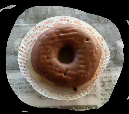 Donut choco: 2 €